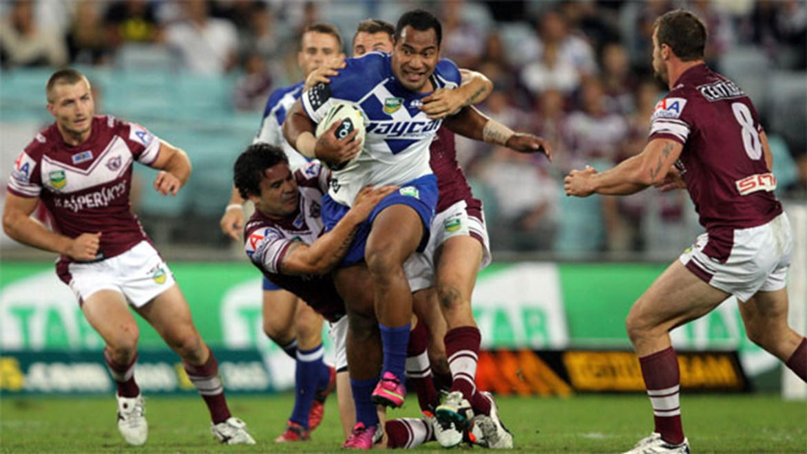 Tony Williams hopes good health and a united team will help him return to the stellar form he displayed in 2012. Copyright: Robb Cox/NRL Photos.