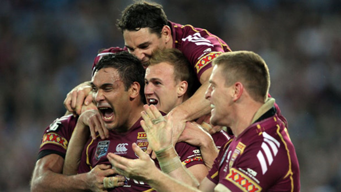 The Maroons will plot a ninth straight Series win from a new training base in 2014. Copyright: Robb Cox/NRL Photos