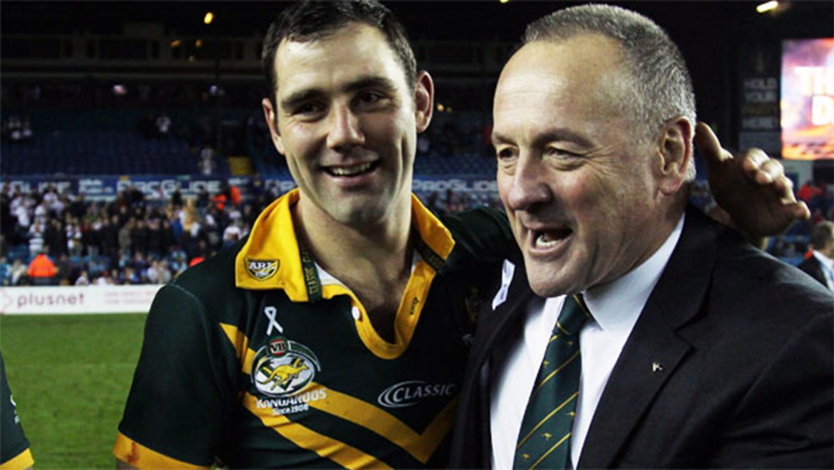 Tim Sheens has kept his role as Australia's national rugby league coach. Copyright: Jack Varley/NRL Photos.