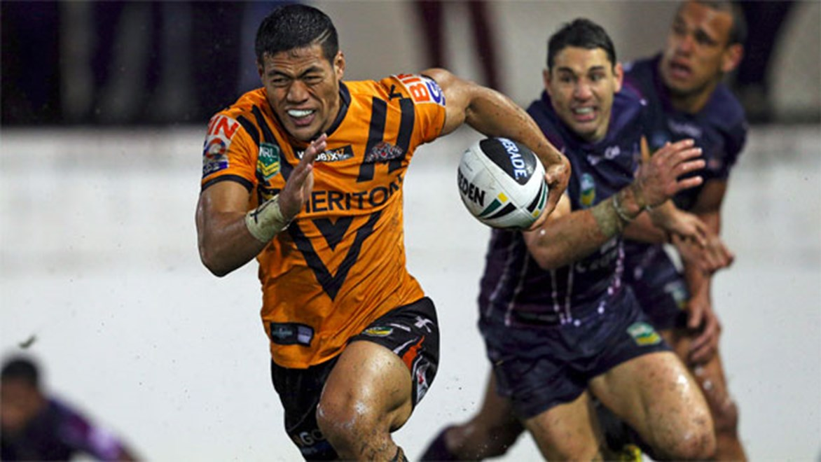 Wests Tigers centre Tim Simona has been ruled out for Saturday's clash against the Warriors in Wellington.