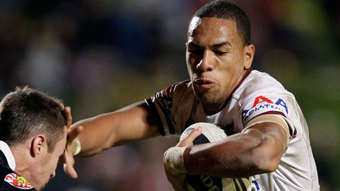 Will Hopoate hopes to add some weight to his frame to help him cope with his return to the NRL. Copyright: Robb Cox / NRL Photos.