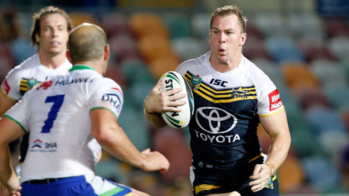 Veteran forward Glenn Hall believes failing to live up to expectations in 2013 will hold the Cowboys in good stead this year. Copyright: Charles Knight/NRL Photos