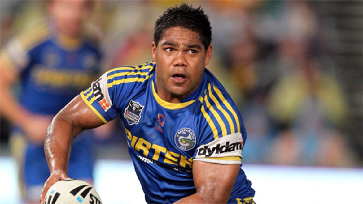 Under-fire Eels half Chris Sandow will be looking to continue his good form for Wentworthville this weekend. Copyright: Grant Trouville/NRL Photos.