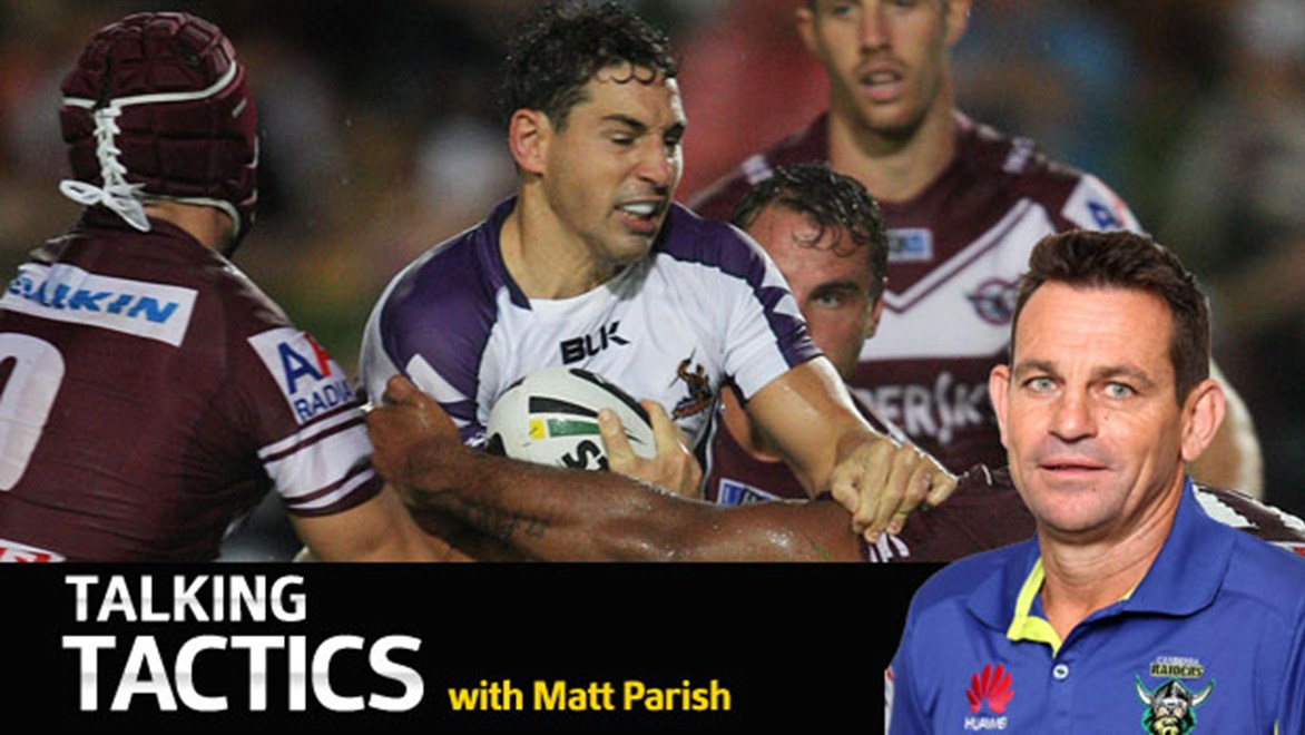 Canberra Raiders assistant coach Matt Parish says cutting down the time of the NRL's best attacking players is key to curbing their influence.