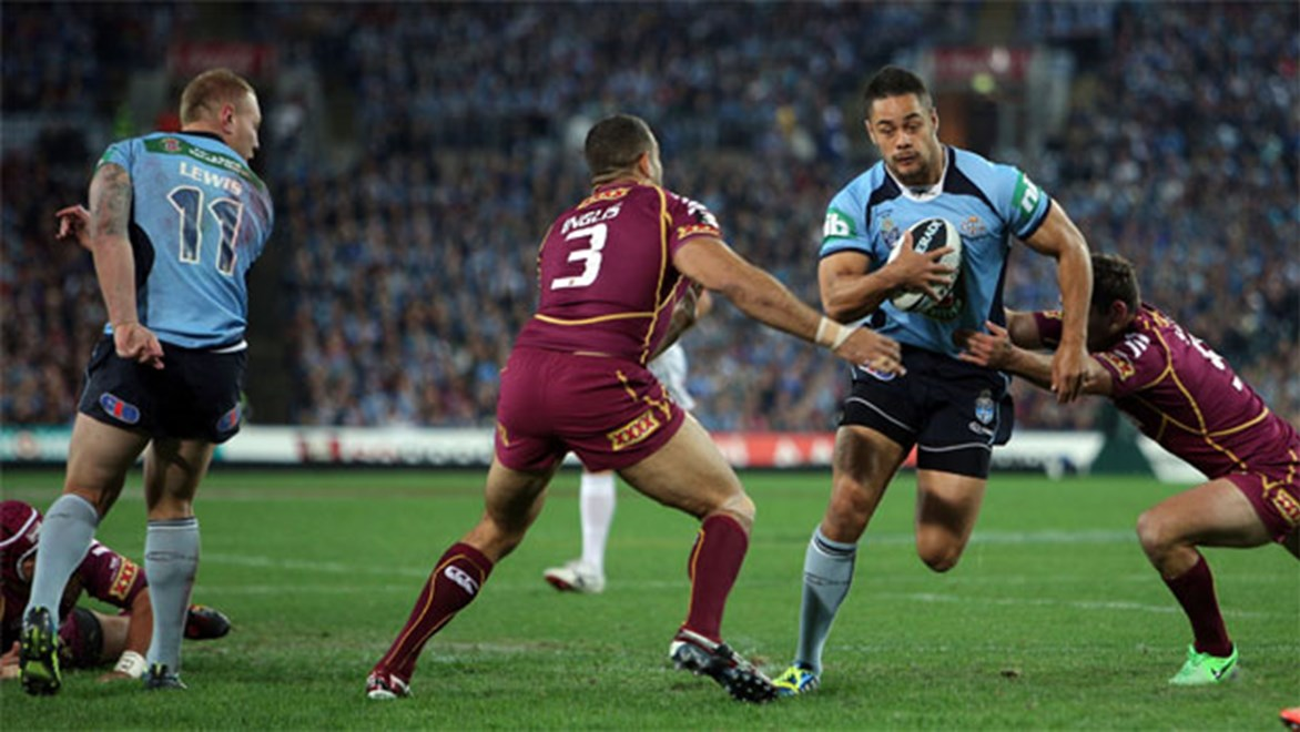 Jarryd Hayne is unlikely to be fully fit for the duration of this year's State of Origin series.