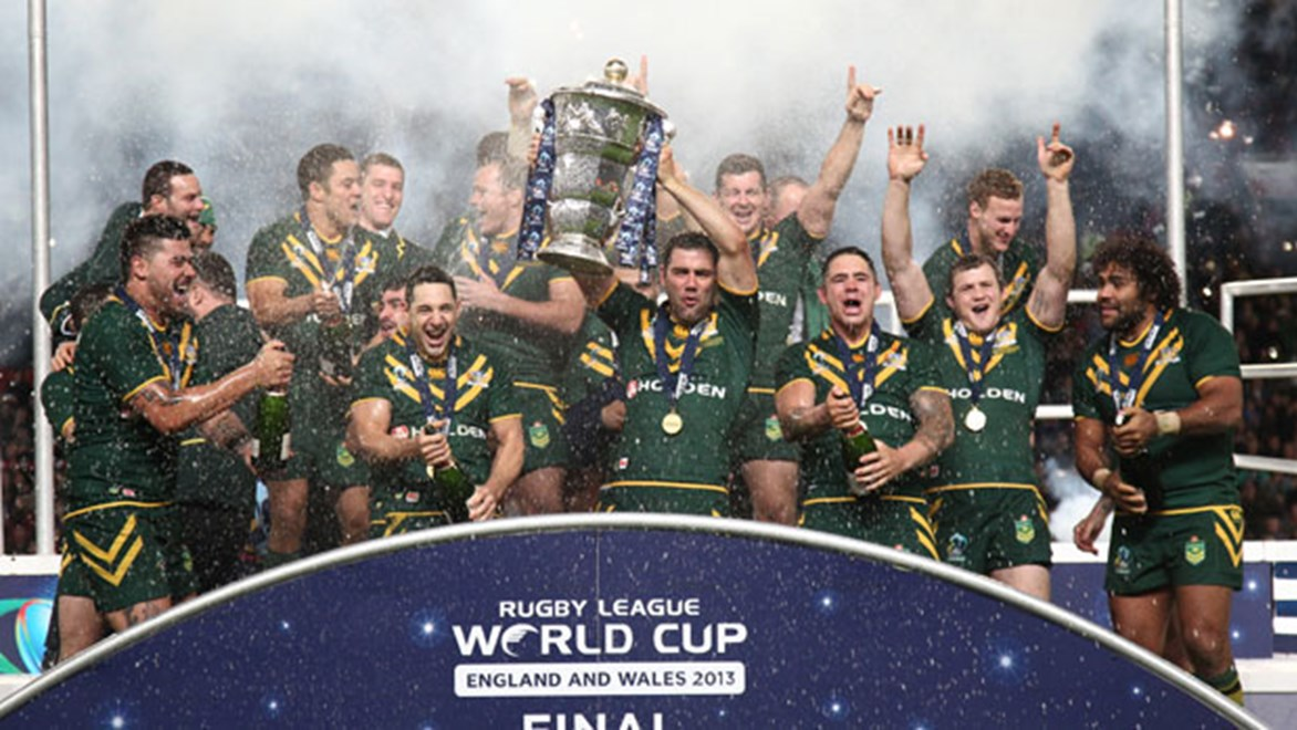 The Kangaroos were triumphant on the field but the World Cup also proved to be a winner off the field. Copyright: Col Whelan/NRL Photos
