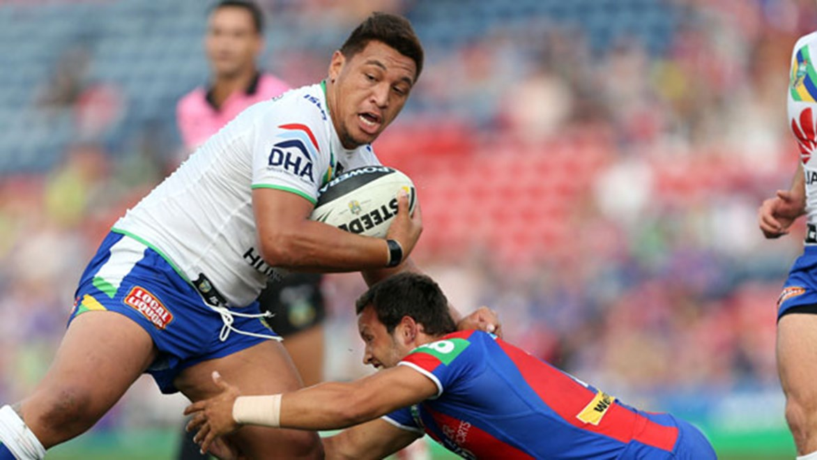 Raiders Test forward Josh Papalii will return from an ankle injury this weekend when his side takes on the Knights. Copyright: Robb Cox/NRL Photos