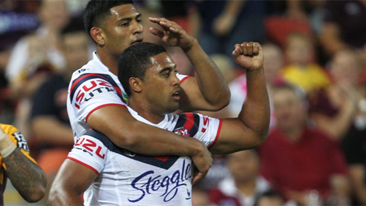 Michael Jennings says defence has become a big part of his game at the Roosters. Copyright: Colin Whelan/NRL Photos.