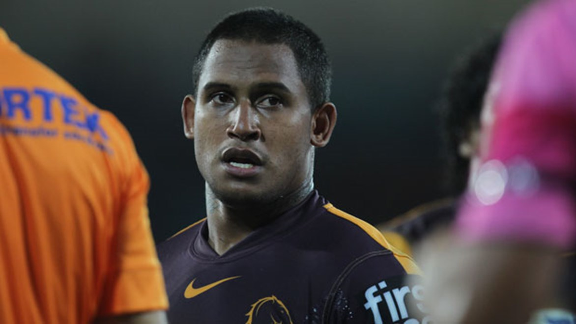 Despite a mixed start to his tenure at the Broncos, fullback Ben Barba has the complete backing of his Brisbane teammates. Copyright: Col Whelan/NRL Photos