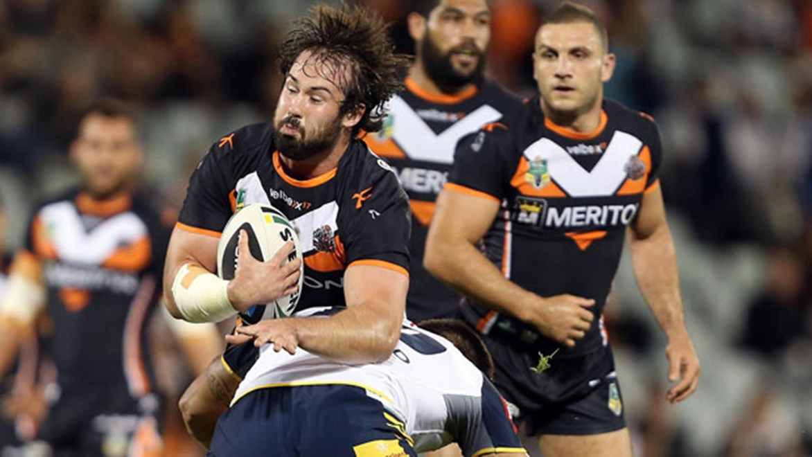 Aaron Woods and Robbie Farah impressed against the Cowboys last weekend. Woods who took on the Australian forward pack, impressed especially with 172 metres and 35 tackles. Copyright: Robb Cox/NRL Photos