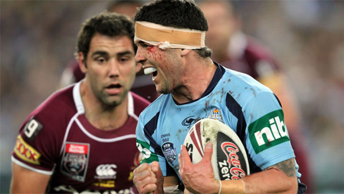 Bulldogs hooker Michael Ennis hasn't played Origin since Game II in 2011. Copyright: NRL Photos/Grant Trouville.