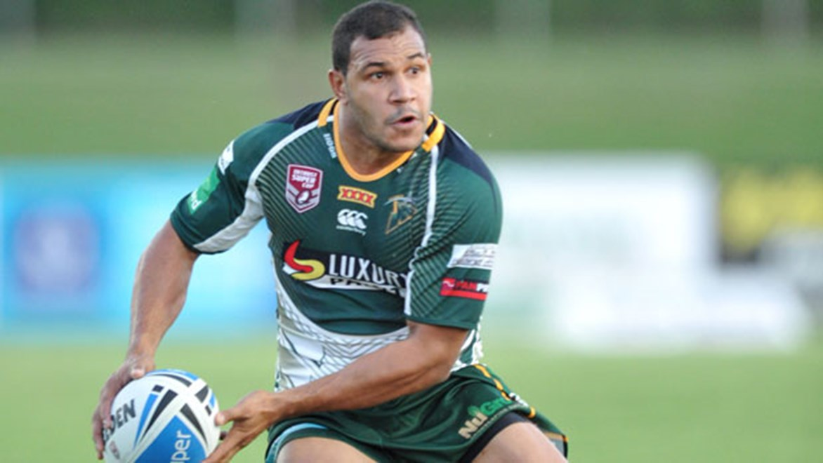 Javarn White scored for Ipswich as they came from 18-0 down to defeat the Northern Pride 24-18.