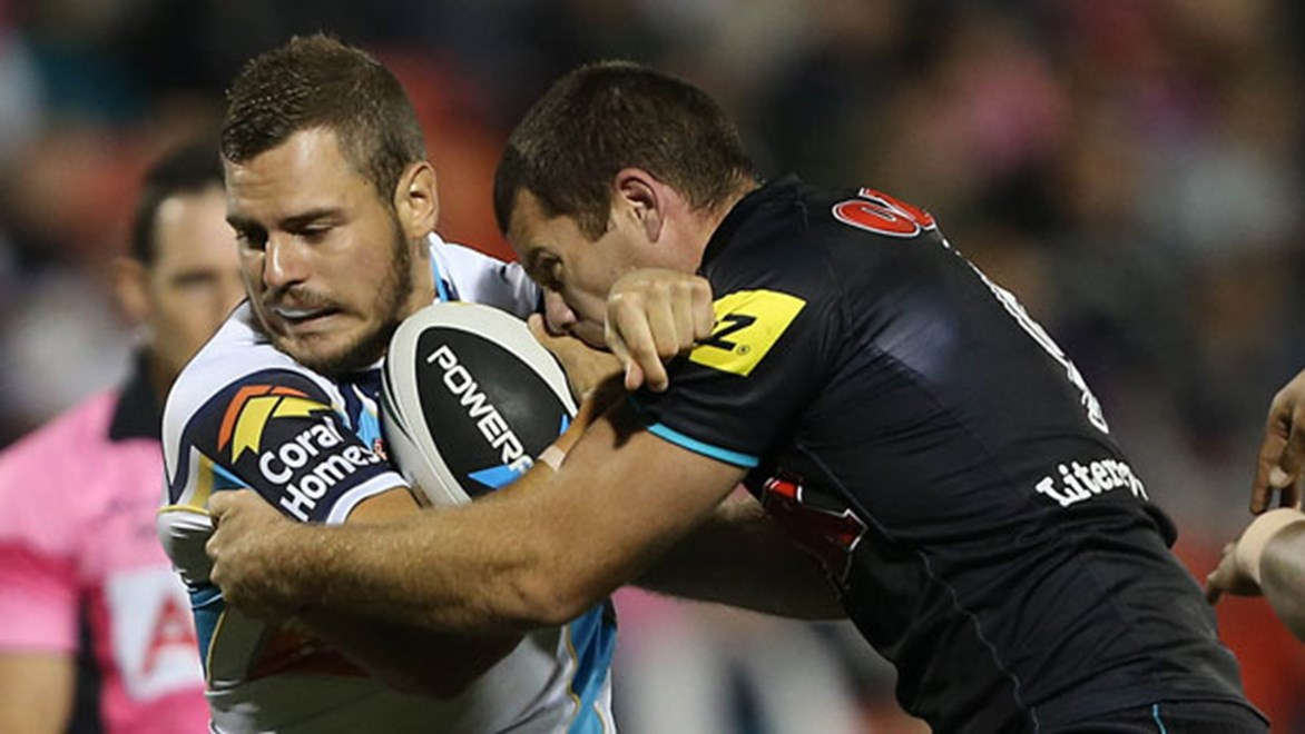 Five-eighth Aidan Sezer insists it is up to him to improve the execution of the Titans' attack.