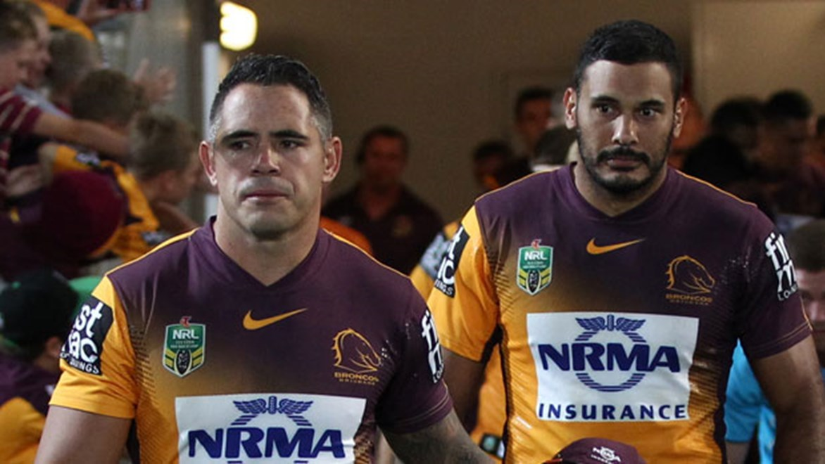 Co-captains Corey Parker and Justin Hodges have committed themselves to the Broncos until at least the end of the 2016 season.