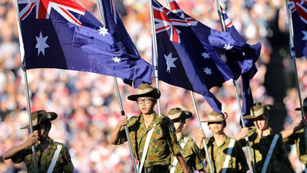 The spirit of the Anzacs will be honoured at three massive NRL games on Anzac Day.