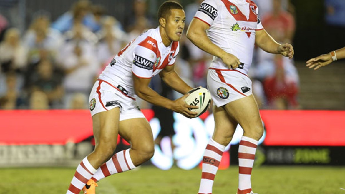 St George-Illawarra utility Kyle Stanley lines up at halfback for the Dragons NSW Cup side for the second straight week.