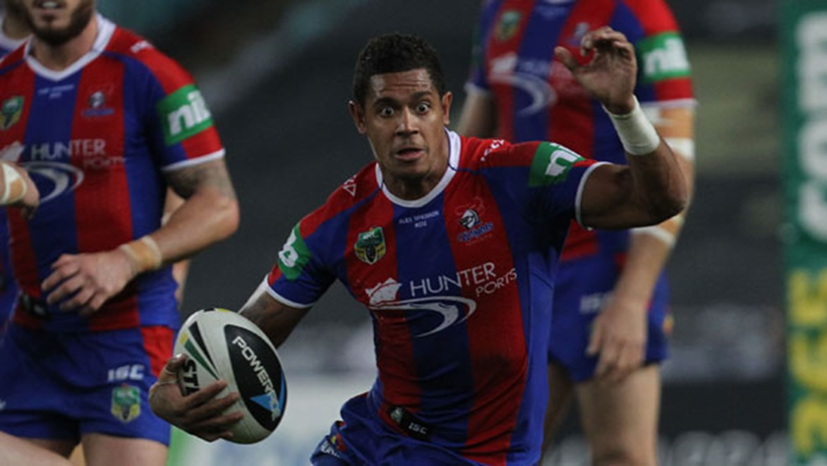 Centre Dane Gagai ran for 178 metres in a brave Knights effort that fell just short against the Bulldogs on Saturday night