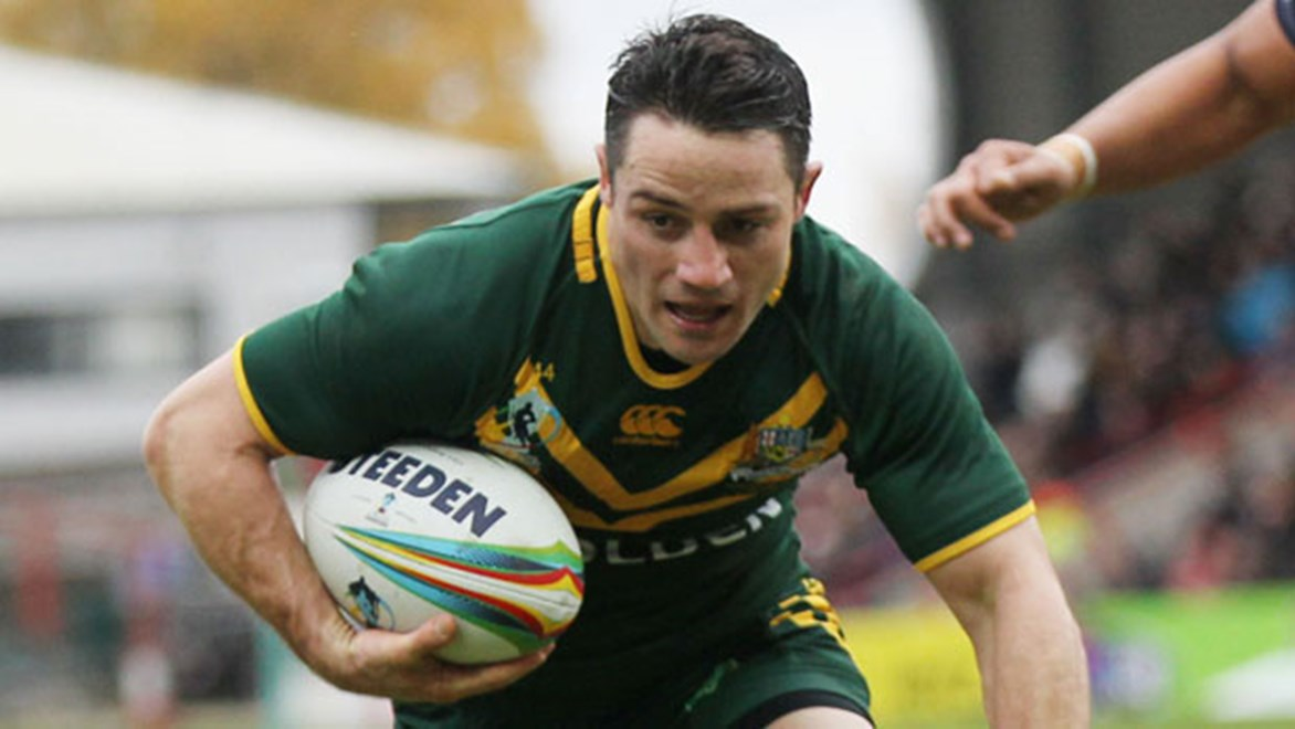 Kangaroos halfback Cooper Cronk has held his Test spot amid a run of brilliant form from Daly Cherry-Evans.
