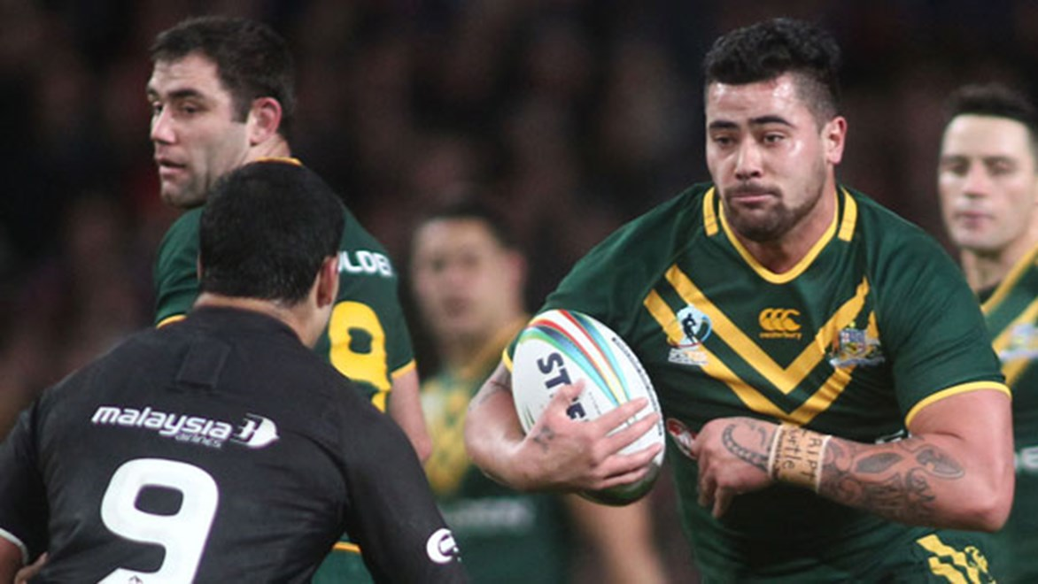 Kangaroos World Cup prop Andrew Fifita admits he deserved to be dropped from the Australian side for the Trans-Tasman Test.