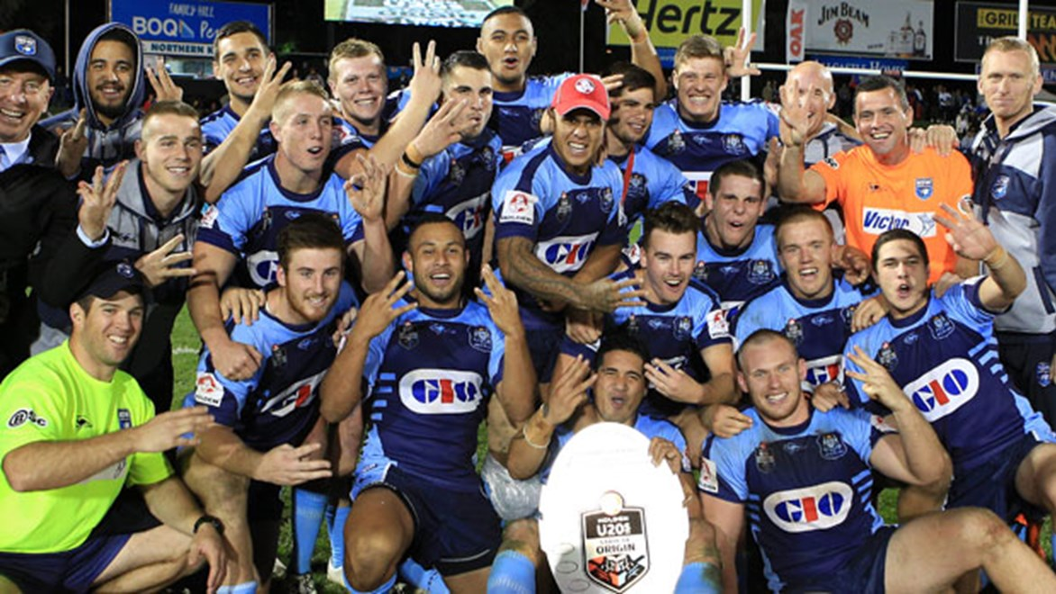 NSW made it three consecutive wins in the under-20s Origin clash at Penrith on Saturday night.