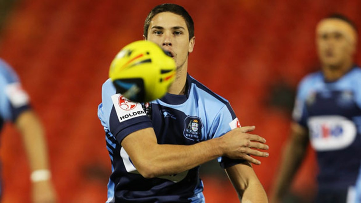Wests Tigers and NSW Under-20s player Mitchell Moses has been banned for two games by the NRL for making a homophobic remark during Saturday's State of Origin match against Queensland.