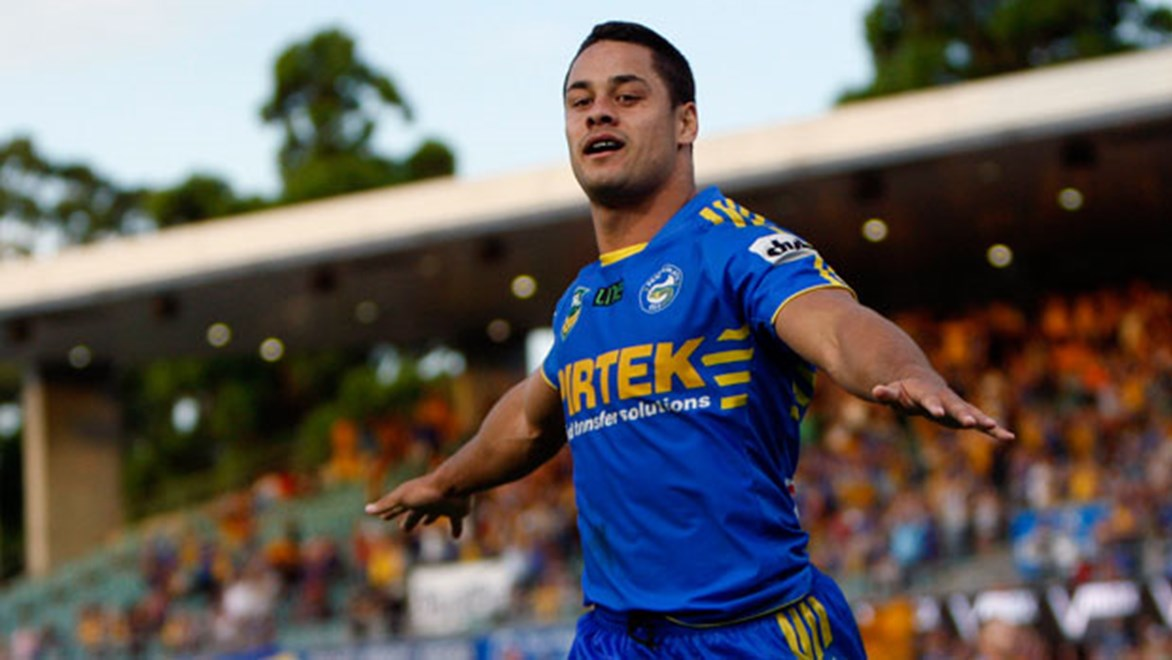 Jarryd Hayne's form in 2014 was arguably better than that he showed during the Eels' devastating run to the Grand Final in 2009.