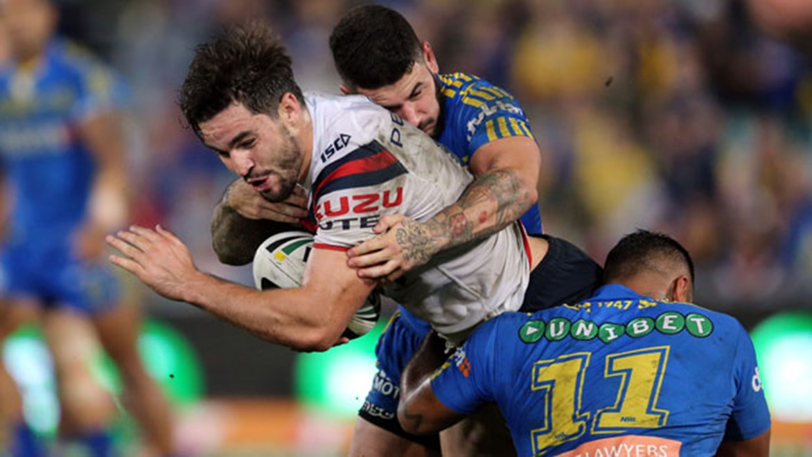 Sydney Roosters back-rower Aidan Guerra was worried when Sonny-Bill Williams joined the club, in fear of losing his spot, but has since grown to new heights.