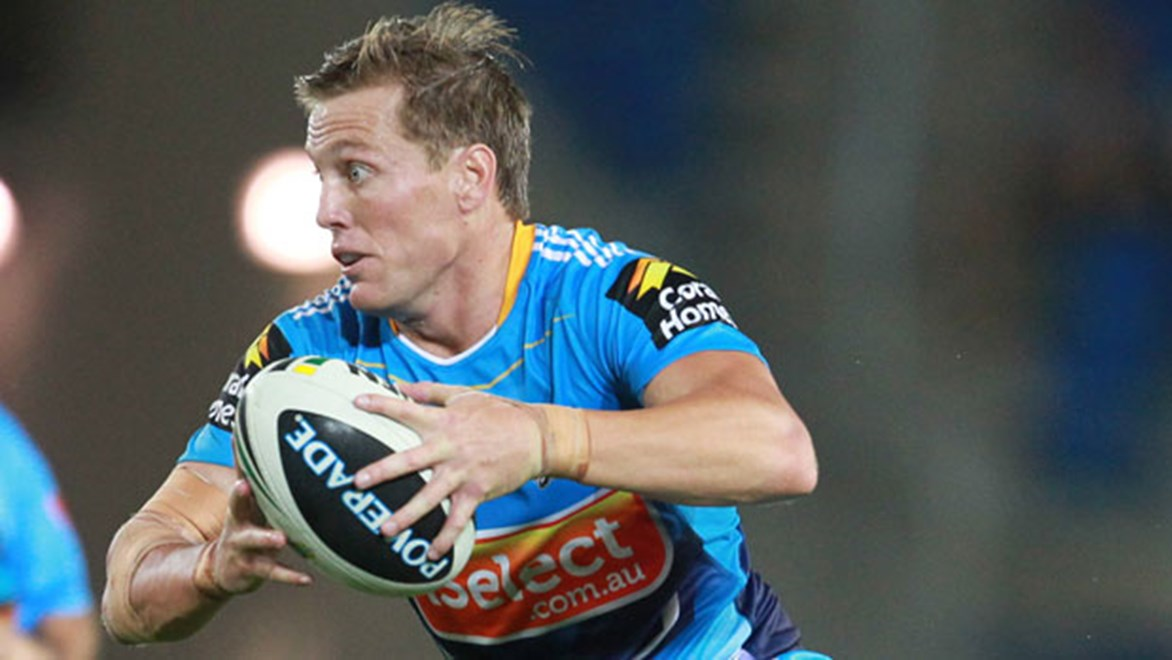 Beau Henry gets his second NRL game with the Titans, more than 12 months after his first.