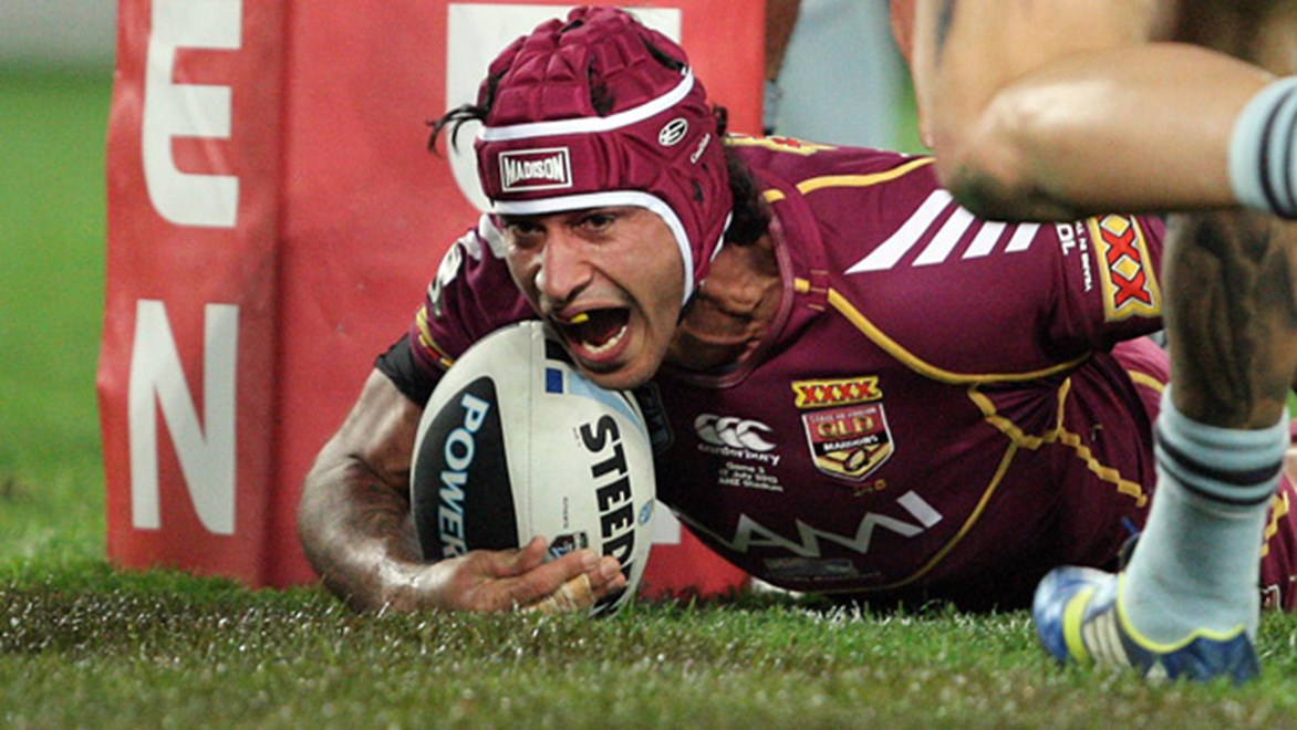 Johnathan Thurston has played every game during Queensland's historic run, stringing together 27 consecutive appearances for the Maroons.