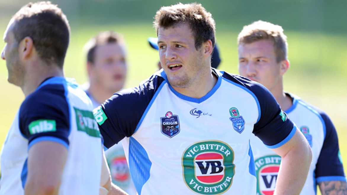 Josh Morris is set to line up alongside brother Brett on the right edge for NSW in Game One at Suncorp Stadium.