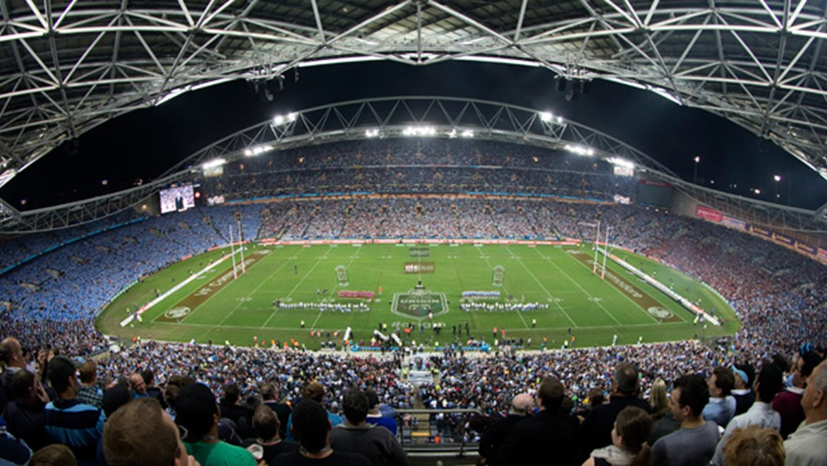 ANZ Stadium will host the second game of the 2014 Holden State of Origin series on Wednesday, June 18.
