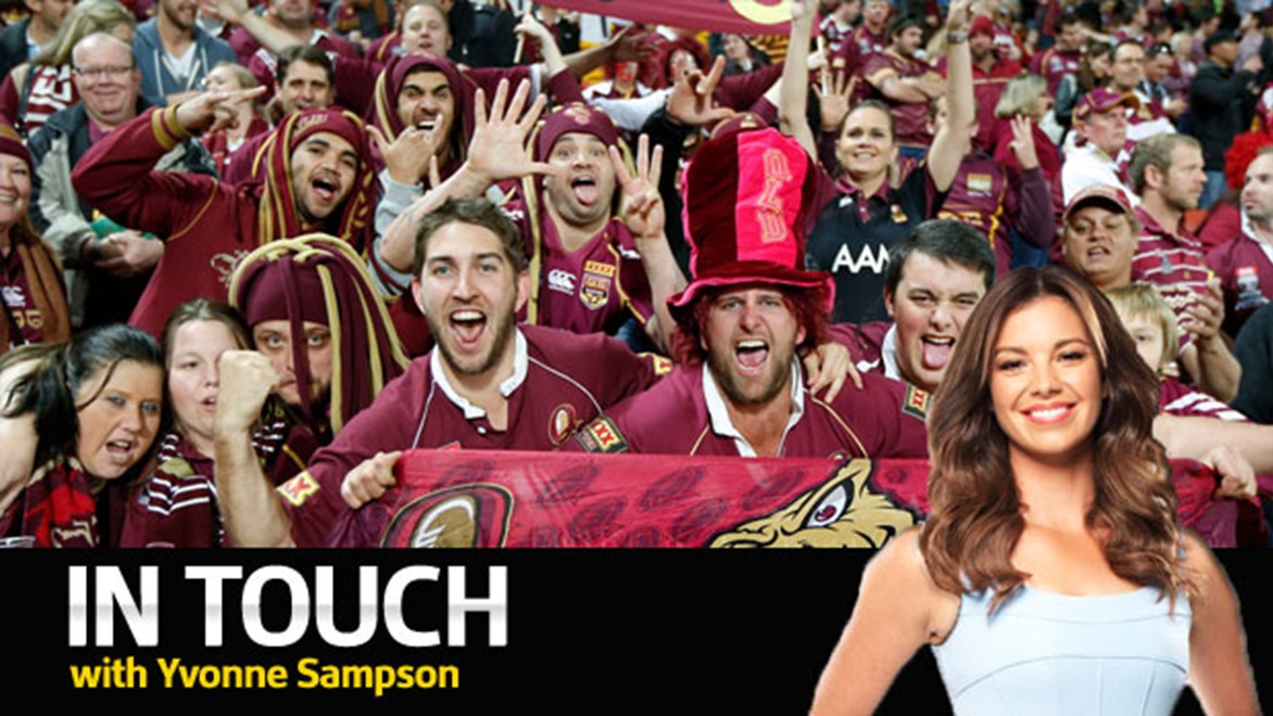 Footy fans always show their true colours around State of Origin time.