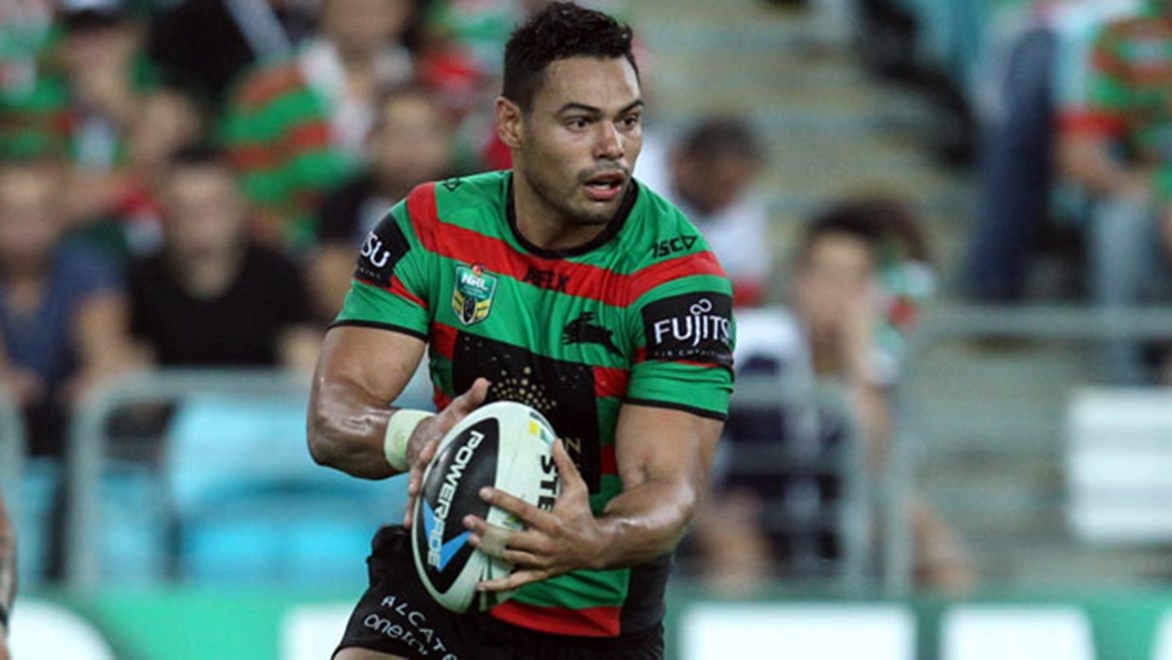 South Sydney duo Chris McQueen and Ben Te'o (pictured) remain tight-lipped over their contractual status past this season with the Rabbitohs.