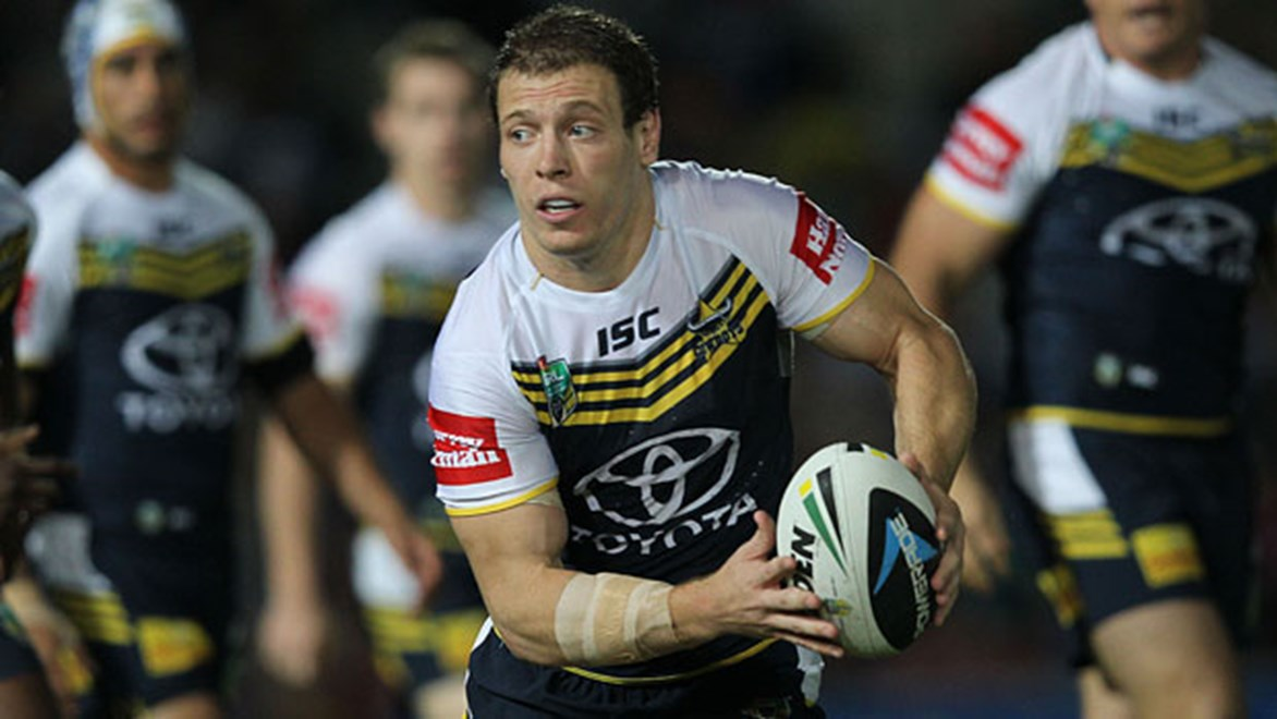 Cowboys utility Rory Kostjasyn is intent on cementing himself in the troublesome North Queensland No.9 jersey this season.