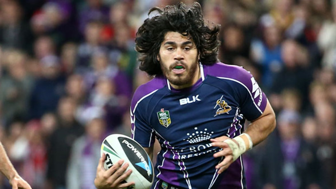 Melbourne Storm coach Craig Bellamy has shifted usual back-rower Tohu Harris into the halves this weekend against the Roosters as he tries to combat a mid-season injury crisis.