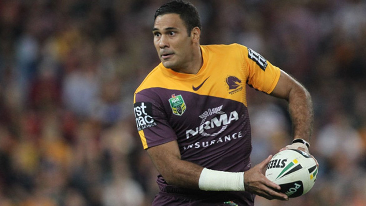 Broncos staff are managing the load of Origin star Justin Hodges carefully, as he makes his way back from the Achilles injury that ended his 2013 season.
