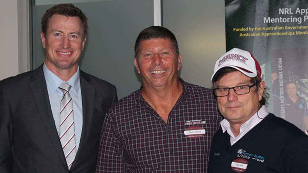 Manly Sea Eagles launch Mentoring program.