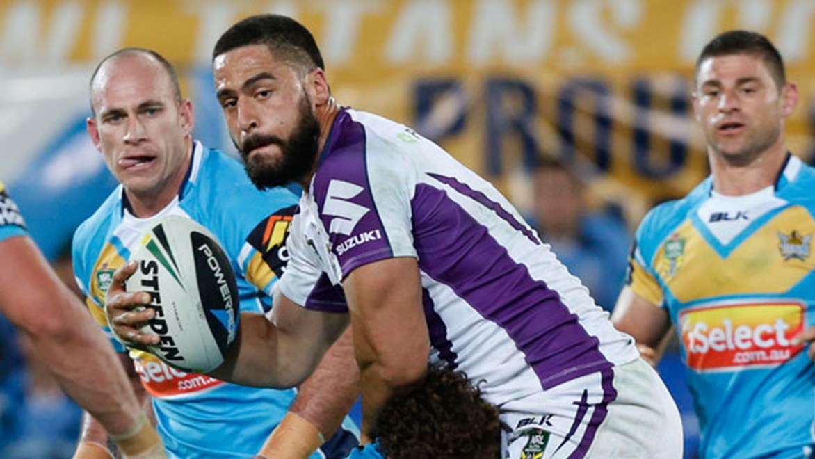 Jesse Bromwich single-handedly took the game away from the Titans and is developing into a fine leader at the Storm.