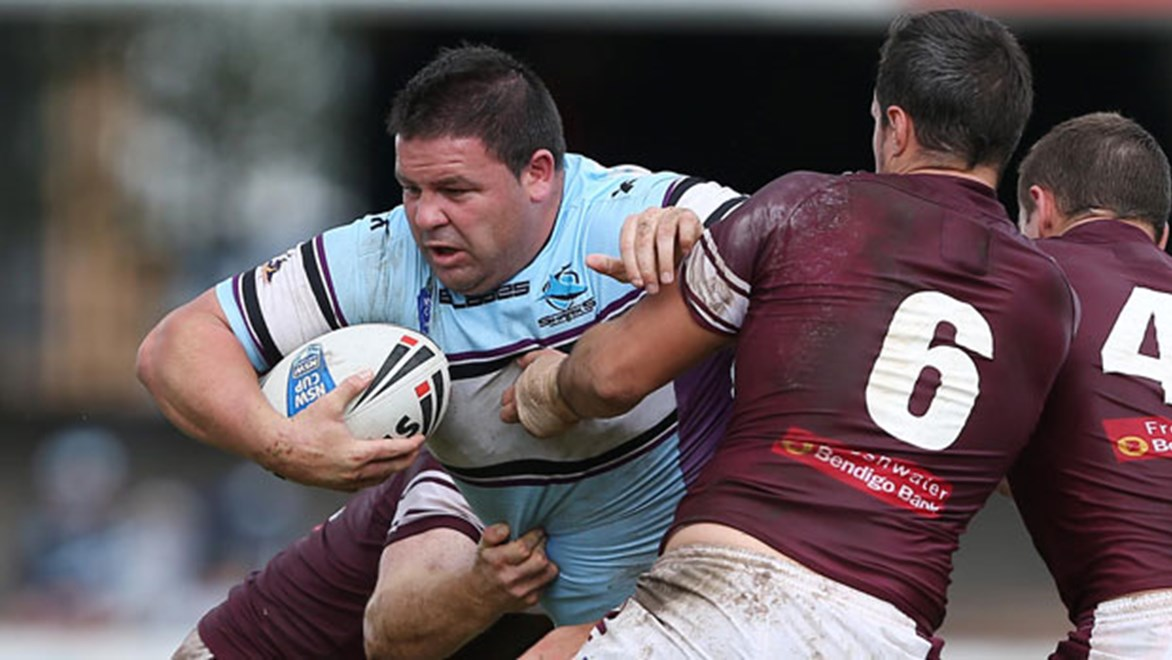 Storm prop George Rose will line-up against Manly for the fourth time this season when he pulls on the Sharks jersey once again in VB NSW Cup.