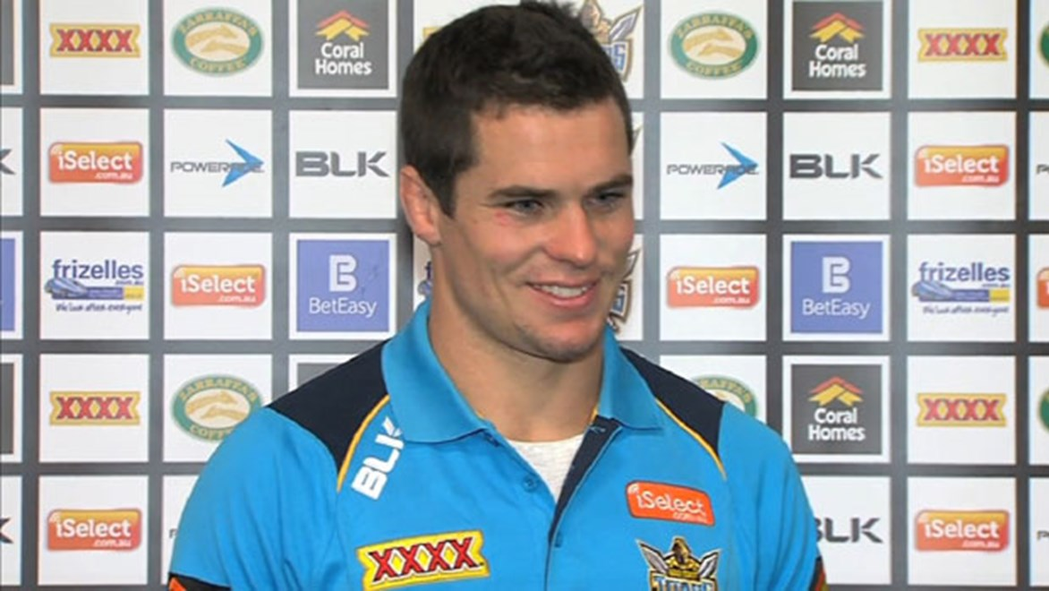 The opportunity to secure a permanent halfback spot drove Daniel Mortimer to leave the Roosters and join the Gold Coast Titans.