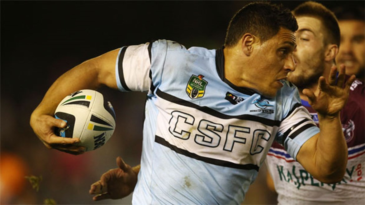 No spooning... Sharks second-rower Anthony Tupou says unlike 2009, this year's just been bad luck.