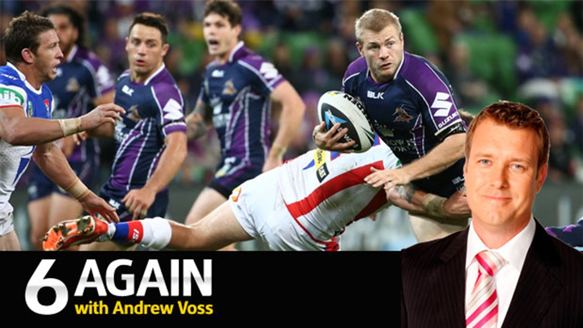 Ryan Hinchcliffe is underrated by everyone but the Melbourne Storm, according to Andrew Voss.