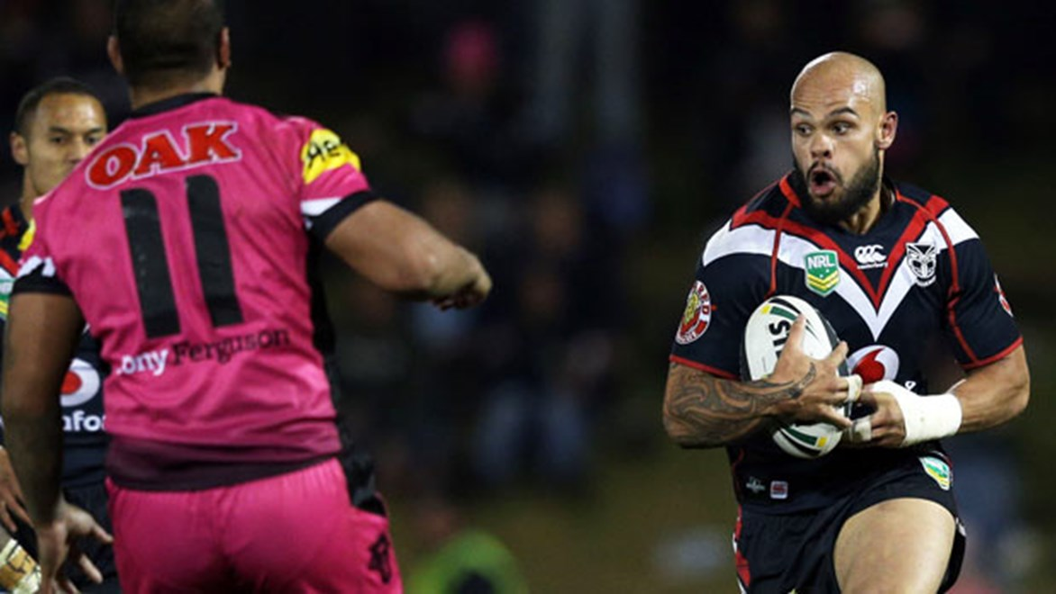 Prop Sam Rapira is one of six Warriors who are familiar with the coaching nuances of now-Penrith mentor Ivan Cleary.