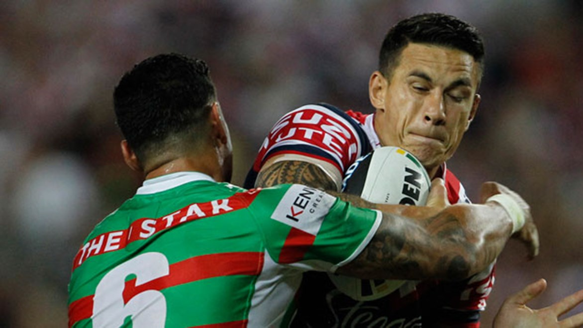 Sonny Bill Williams and the Roosters host the Rabbitohs on Thursday night in a block-busting opening to Round 26.