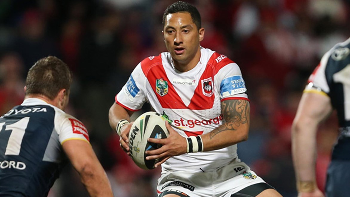 Benji Marshall has been at the heart of the Dragons' recent turnaround, as they made it three consecutive wins with victory over the Cowboys in Round 17.