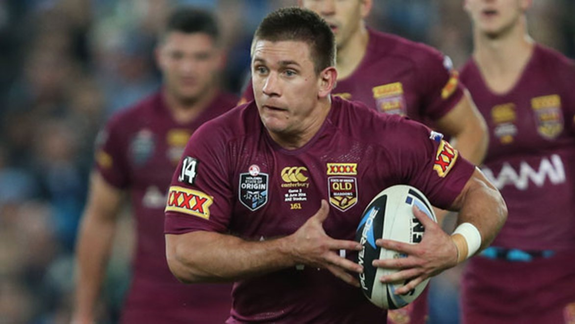 Jacob Lillyman's consistent season for the Warriors has been rewarded with a starting spot for Queensland on Wednesday night.