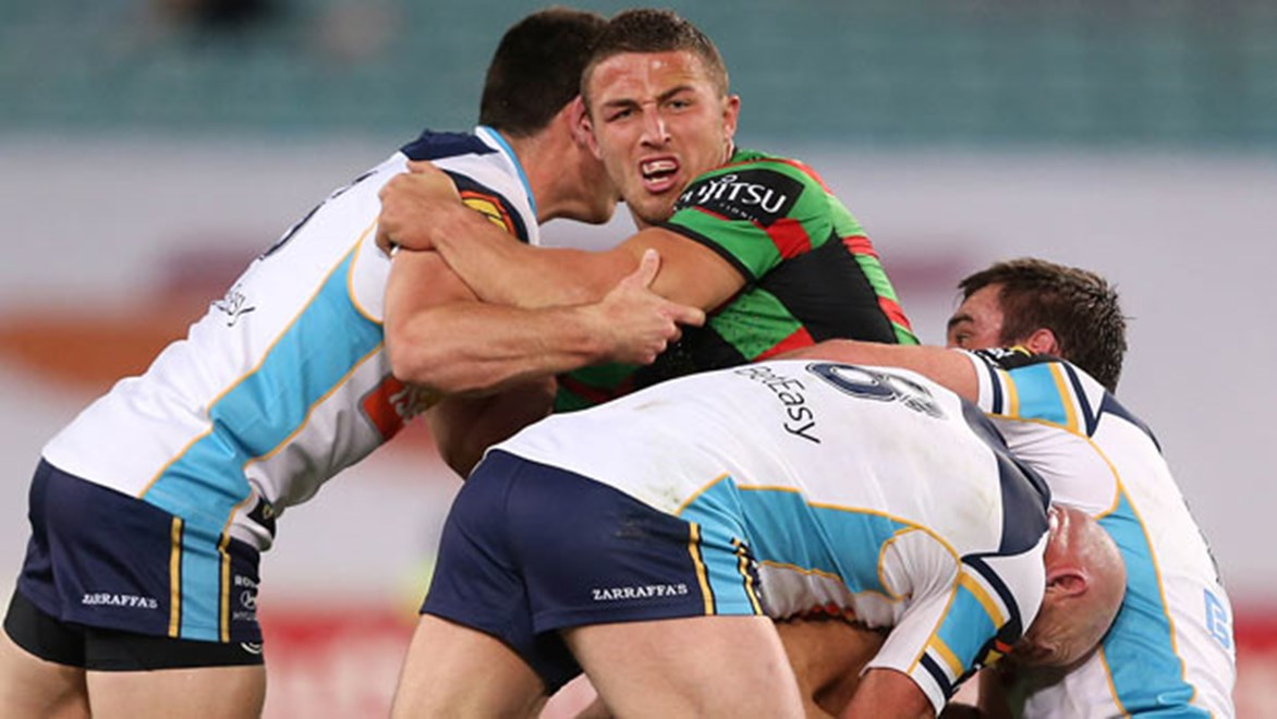Sam Burgess had a case of the dropsies against the Titans - but can we really blame Origin for a poor standard of football without the 'stars'?