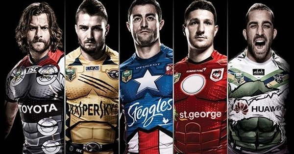 0539d855471 NRL clubs to become Marvel heroes in Rd 21 - NRL