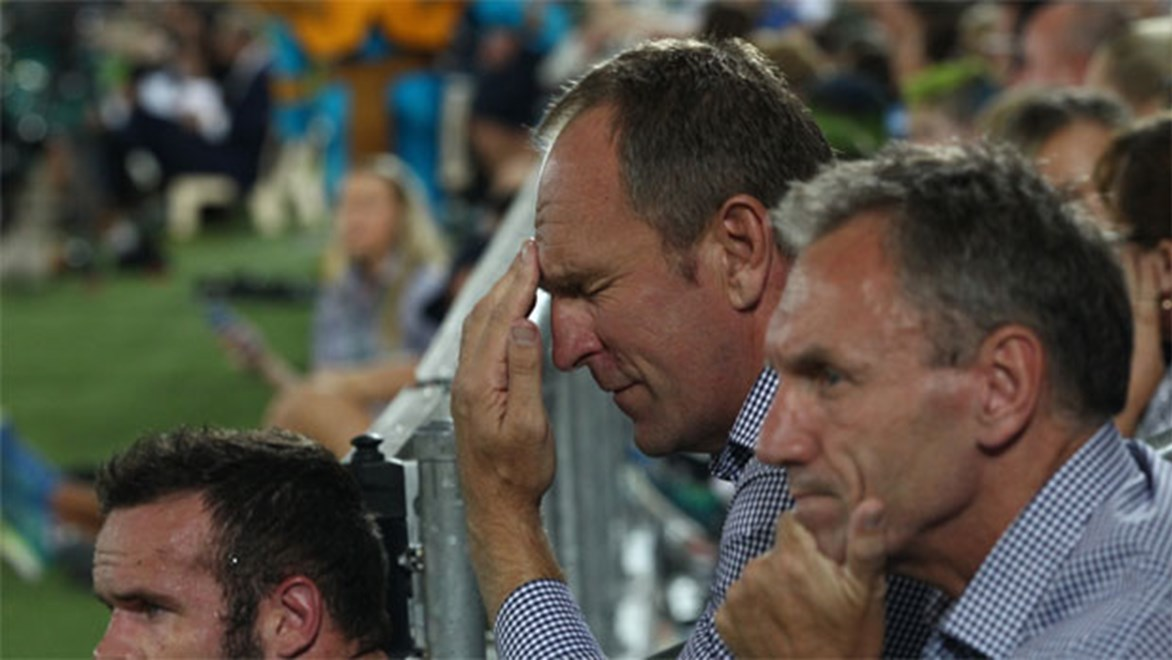 Tough times... Titans coach John Cartwright has two years remaining on his original five-year deal.