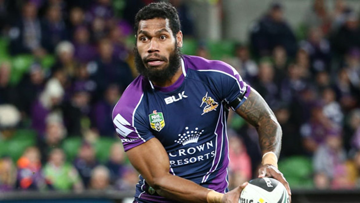 The Melbourne Storm have lost two players with Sisa Waqa (pictured) and Tim Glasby signing with the Raiders and Cowboys respectively for 2015.